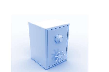 deposit slip: Safe in isolated background