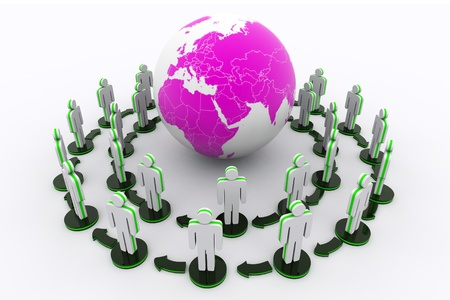 co operation: Global Network Concept