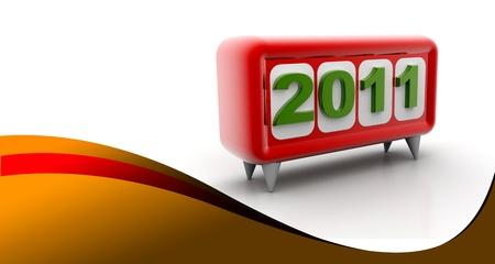 jahreswechsel: Happy New Year Stock Photo