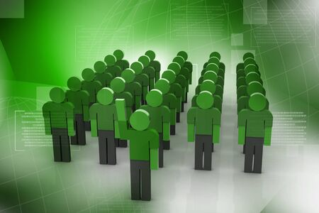 co operation: Business team and leadership in abstract background   Stock Photo