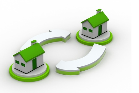 downgrade: Exchanging Houses
