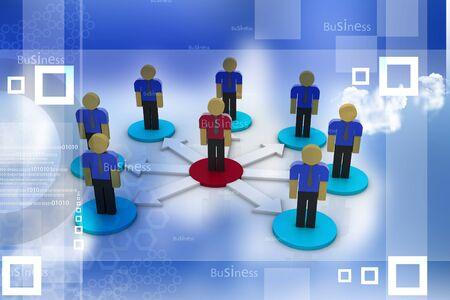 co operation: Communication Stock Photo