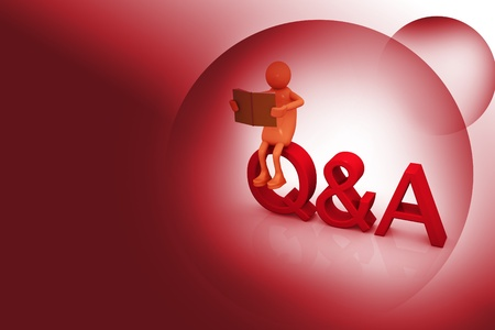 Question and answer Stock Photo - 10979646