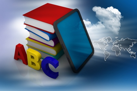 alphabetical order: Education  Stock Photo
