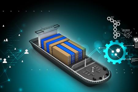 shipload: Buque de carga 3d