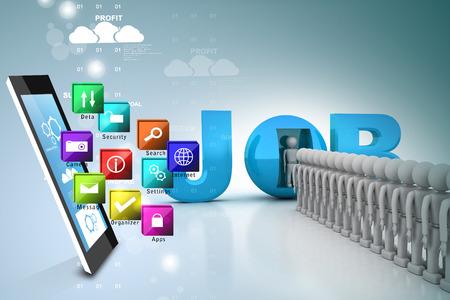 queuing: World of job