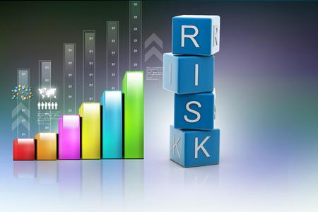 insurance themes: Risk Insurance Stock Photo