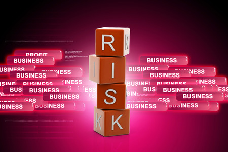 insurance themes: Risk Insurance Stock Photo