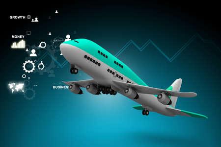 aircraft carrier: 3d multi use air plane