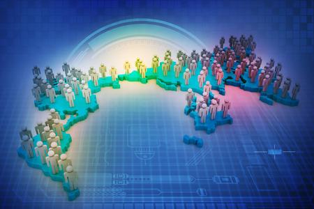 organised group: population