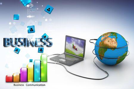 internet  concept: Global internet concept