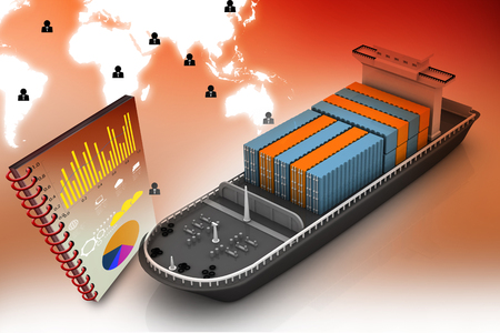 shipload: 3d cargo ship