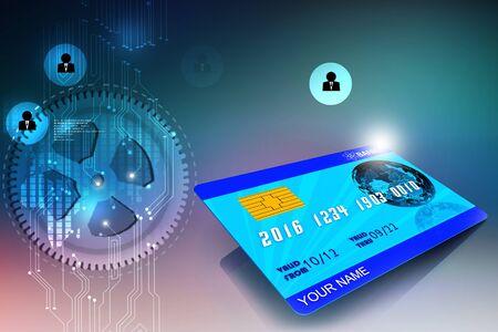 atm card: 3d multi use  ATM CARD
