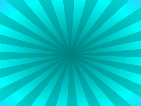 blue ray: Turquoise rays