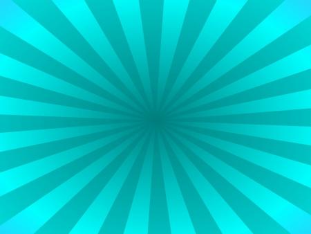 rays: Turquoise rays