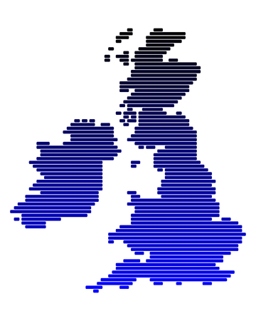 isles: Map of the British Isles