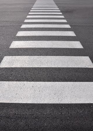 road marking: Crosswalk