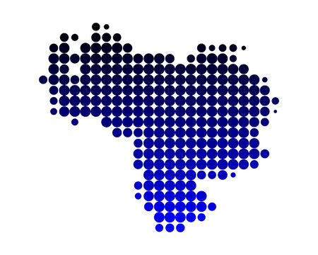 Mapa de Venezuela Foto de archivo - 5300839