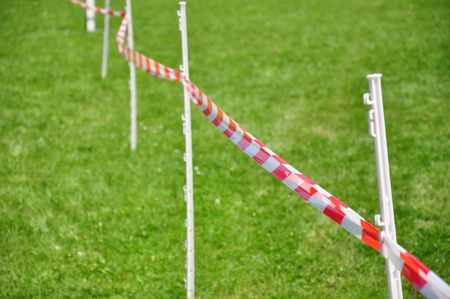 Barrier line Stock Photo - 5453573