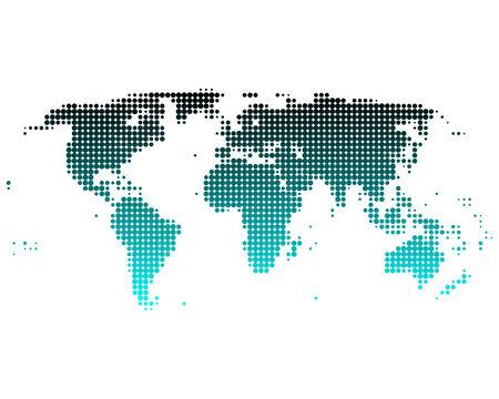 World map Stock Vector - 5719847