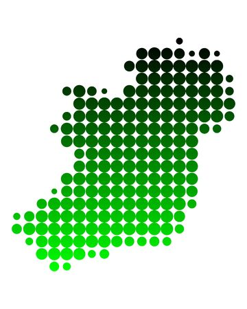 eire: Map of Ireland