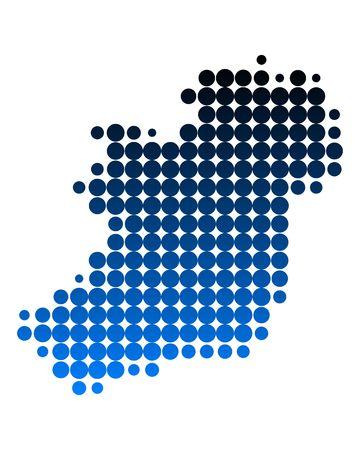 isles: Map of Ireland