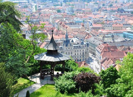 View on Graz, Austria