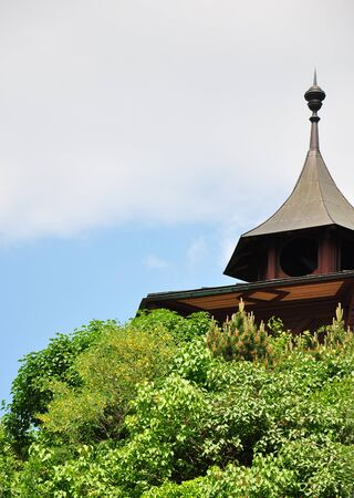Chinese pavillon at castle hill in Graz, Austria Stock Photo - 7203036
