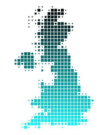 Mapa de Gran Bretaña