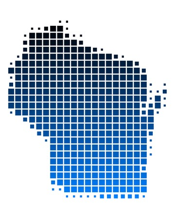 wisconsin: Map of Wisconsin