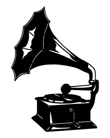 Gramophone Stock Vector - 7824567