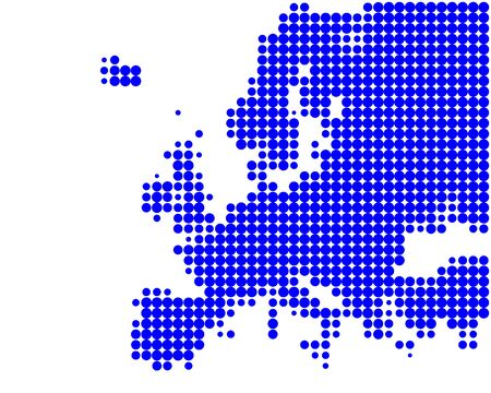 Map of Europe Stock Vector - 7943528