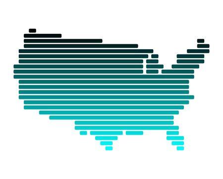 Carte des USA