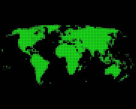 World map Stock Vector - 8483513