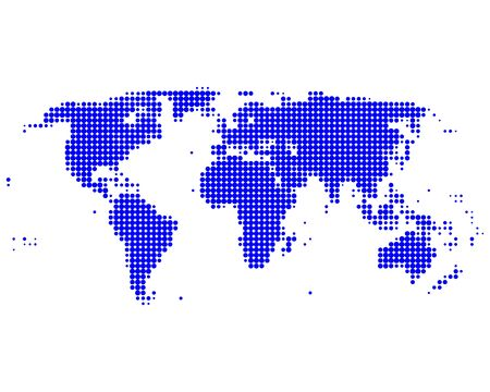 World map Stock Vector - 8682498