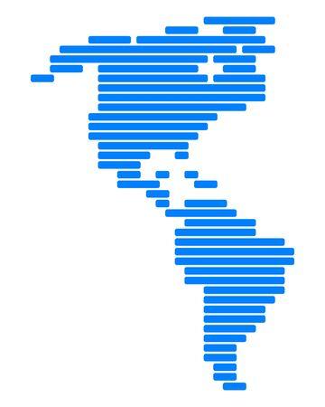 Kaart van Amerika