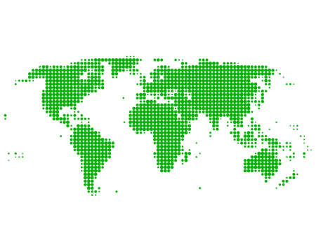 World map Stock Vector - 8694661