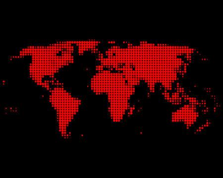 World map Stock Vector - 8694660