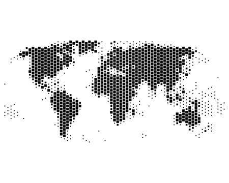 World map Stock Vector - 8694662