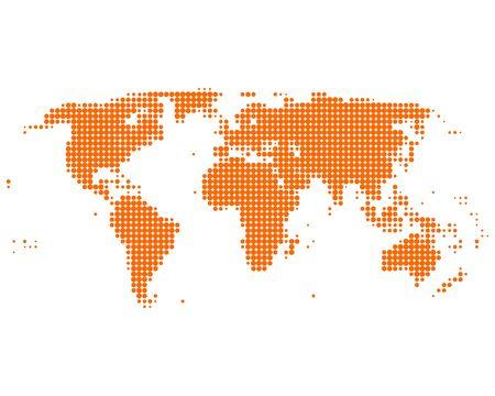 World map Stock Vector - 9073256