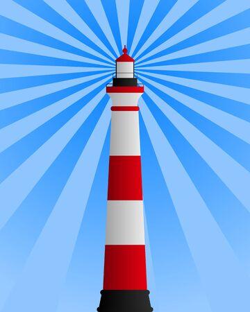 raggi di luce: Faro