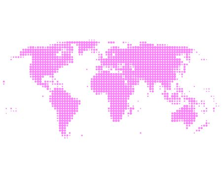 World map Stock Vector - 9190468