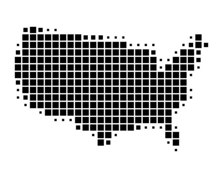 us map: Map of United States of America