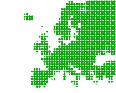Map of Europe Stock Vector - 9255371