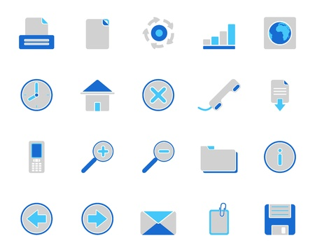 Web icons Stock Vector - 9279008