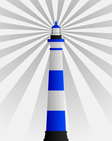 Lighthouse Stock Vector - 9354938