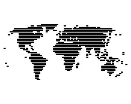 World map Stock Vector - 10390270