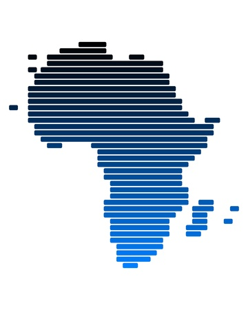 Map of Africa Stock Photo - 10429817