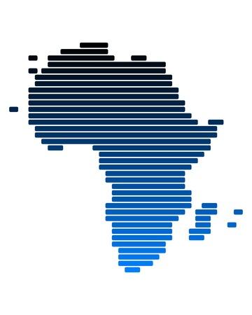 cartina africa: Mappa di Africa