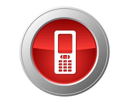 phone button: Mobile phone button